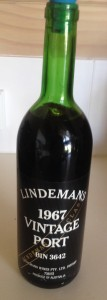 Lindemans 1967 Vintage Port cropped